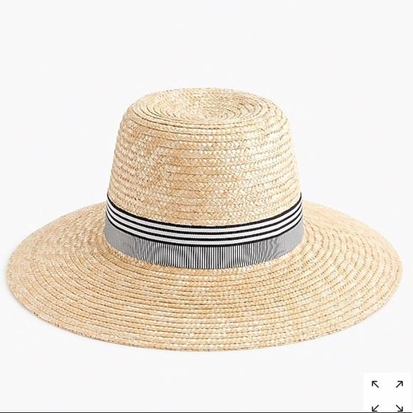 f65e1bebfbf00 NWT Jcrew Straw Hat 🆕